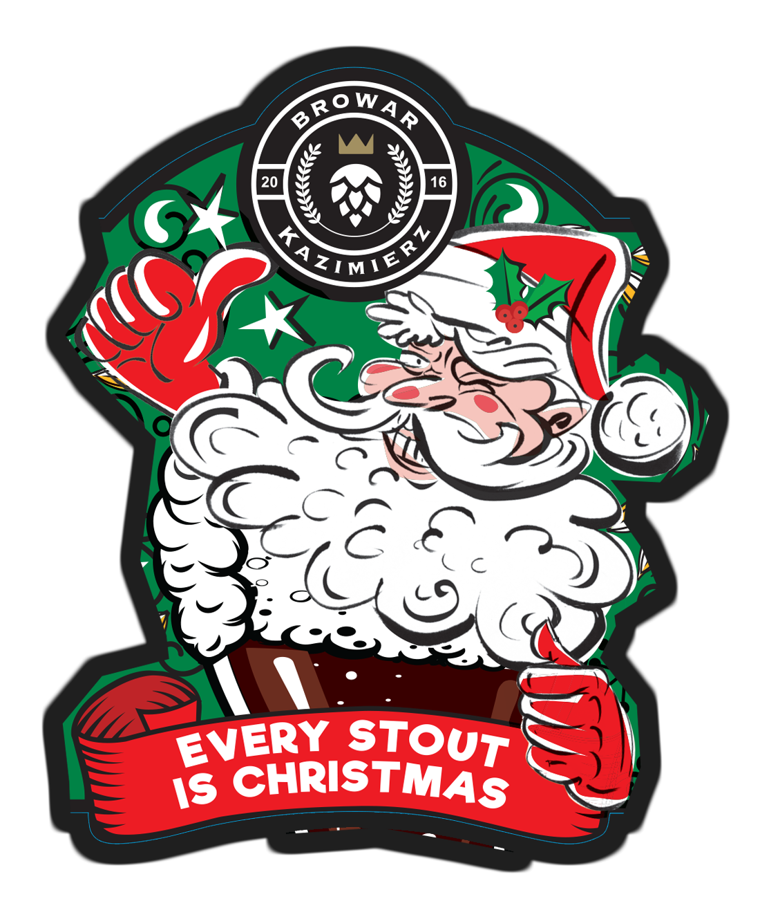 Piwo Every Stout Is Christmas